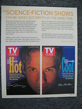 DAVID DUCHOVNY THE X FILES MAGAZINE ADVERTISEMENT PRINT AD