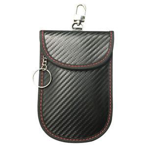 RFID Car Keys Signal Blocking Pouch Anti-Theft Auto Keyless Entry Case Bag