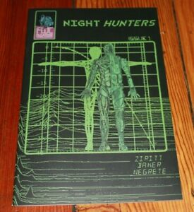 Night Hunters #1 First Print Alexis Ziritt Comic (Out of Print) NM+ Uncirculated