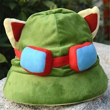FD1992 LOL League of Legends Teemo One Size Cosplay Party Warm Hat Army Green A