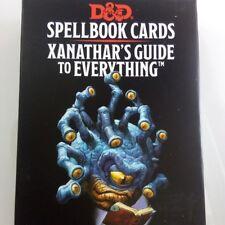 Spellbook Karten xanathar's Guide to Everything Deck Zauber xanathars d&d 5e RPG