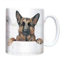 GERMAN SHEPHERD Dog Mug - Ceramic - A Great Gift for a GSD Lover - New & Boxed
