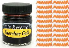 PRIVATE RESERVE - Fountain Pen Ink Bottle - SHORELINE GOLD -  66ml - New