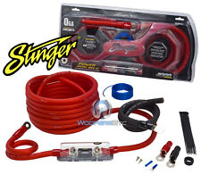 SK4201 STINGER 1/0 GAUGE 4000 AMP WIRE POWER AMPLIFIER INSTALLATION KIT SK-4201