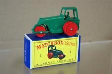 MATCHBOX LESNEY 1 AVELING BARFORD DIESEL ROAD ROLLER MINT BOXED mw