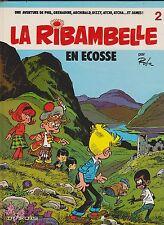 LA RIBAMBELLE n°2. En Ecosse. Dupuis 1983  Superbe