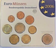 2006 G Germany Official Euro Coin Set Special Edition Karlsruhe Mint Deutschland