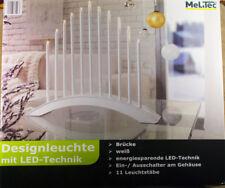 Design Lamp with LED Technology-Bridge-White * New * Boxed * 11 Glow Sticks
