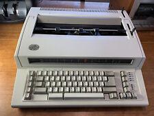 Ibm Personal Wheelwriter 2 Electronic Typewriter Works Great