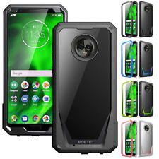 For Motorola Moto G6 POETIC Guardian Rugged Case Shockproof TPU Cover 4 Colors