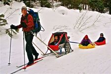 Ski Conversion Kit- Burley, Chariot, Schwinn, InStep, Giant, or any bike trailer