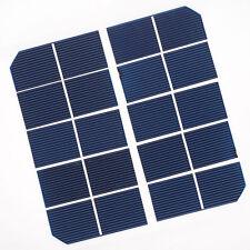 30pcs 1″x 2.5″ (65.5* 25mm) Monocrystalline Solar Cell Grade A