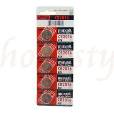 10pcs Batteries 3V Cell Coin Button For Maxell CR2016 Calculator NEW