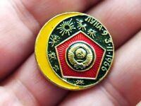 1972 Apollo 17 Pinback Button Pin Internal Souvenir Comsat Corporation