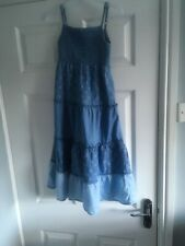 George Girls Maxi Summer Dress Age 7-8 Years