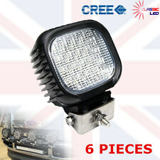 6 X 48w 16 Led Flood Work Light Lamp Car Tractor Boat 4wd Offroad 9-32v CREE 27W