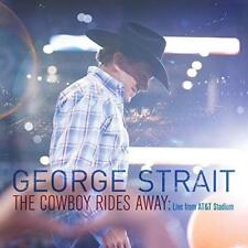 George Strait - Live From At&T Stadium The Cowboy Rides Away (NEW CD)