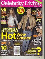 KATIE HOLMES TOM CRUISE Celebrity Living Magazine 5/16/05 MICHAEL DOUGLAS PC