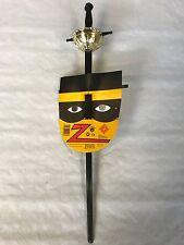 70 x Zoro Säbel Schwert Schwarz Gold 60 cm  Karneval Fasching