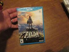 The Legend of Zelda: Breath of the Wild NINTENDO WII U  BRAND NEW FACTORY SEALED
