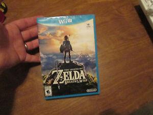 The Legend of Zelda Breath of the Wild NINTENDO WII U US EDITION NEW SEALED READ