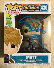 Vic Mignogna Signed Autographed Matt Digimon Animation Funko Pop  BECKETT COA 5