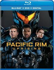 Pacific Rim Uprising Blu-ray Only Disc Please Read