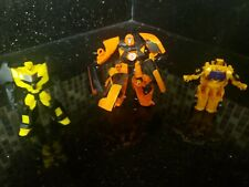 Transformers Animated Drift, Dragstrip, & Bumblebee Lot of three rare figures!