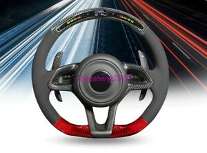 Carbon fiber LED steering wheel For Mclaren 12C 720S 650S GT 540C 570 600TL