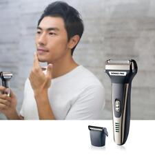 Männer Elektrorasierer USB Charging Razor Bart Trimmer Gesicht Werkzeuge CJ
