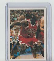 1996 TOPPS  MICHAEL JORDAN  CHICAGO BULLS CARD # 277
