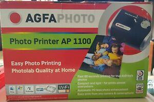 Agfa Photo Printer AP 1100 New With New Photo Printing Kit