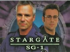 STARGATE  SG1 SEASON  8 PROMO CARD    DS1  BY RITTENHOUSE