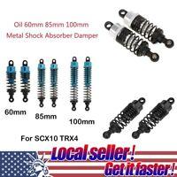 HOT 2PC 60/100mm metal shock absorber damper For 1/10 RC Car SCX10 TRX4 D90 CO