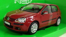 Nex models 1/24 Scale 22458W VW Volkswagen Golf MKV Red Diecast model car