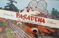 Pasadena California Vintage Color Postcard Tournament of Roses Unposted