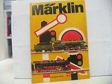 Märklin Catalogo 1974 vedi foto