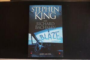 Livre - BLAZE - Stephen King alias Richard BACHMAN - Broché
