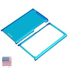 Hard Slim Gel Snap-in Case Cover Skin For Apple iPod Nano 7 7th 7G G Clear Blue