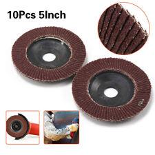 5 Inch Aluminum Oxide Flap Disc Sanding Grinding Wheels Tool For Metal 60# 10Pcs