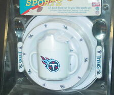 NFL Kids Dinner Set, Tennessee Titans, NEW