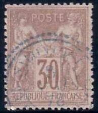 SAGE - N°69 OBLITERATION BLEU - SALONIQUE T22 - TURQUIE