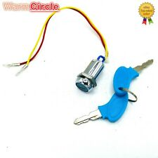 2 Wire Key Switch Replacement Part - Scooter / Motor Bike - Ignition & Key Set