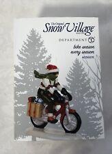 Department 56 Snow Village Bike Season Every Season Figurine 4056691 Bicycle New
