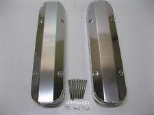 "Pontiac Fabricated Aluminum Tall Valve Covers 1/4"" Rail 389 350 400 455 Cover"