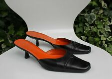Gucci Black slip on shoes for ladies size 39.5 C / 6.5 UK