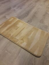 """Flannel """"Relax"""" Bathroom Rug - soft, absorbent"""