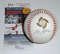 2009 BREWERS Ryan Braun signed WBC baseball JSA AUTO Autographed World Classic