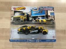 Hot Wheels Legends Tour Team Transport Custom Corvette Stingray Coupe - WALMART!