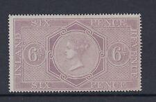 1864 QV Fiscal SGF14 6d Pale Reddish Lilac - Mounted mint